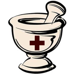 Mortar and Pestle Logo | www.HerbalPrepper.com | Herbal First Aid