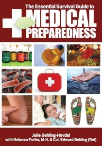 The Essential Survival Guide to Medical Preparedness, essential oils, herbs, first aid, reflexology