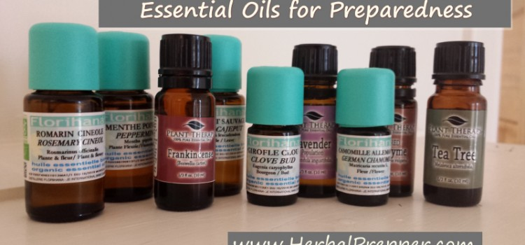 Essential Oils for Preparedness