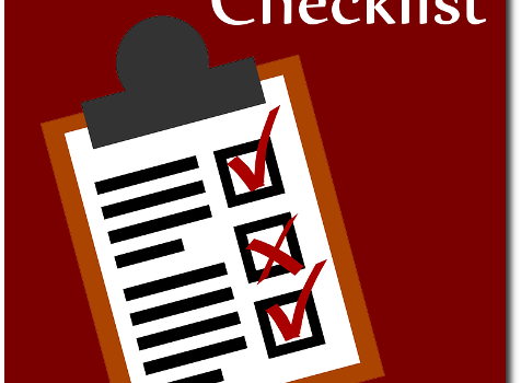 Check out the new page: Pandemic Checklist