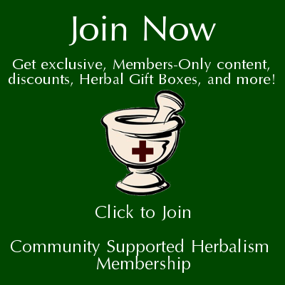 Ccommunity Supported Herbalism | www.HerbalPrepper.com