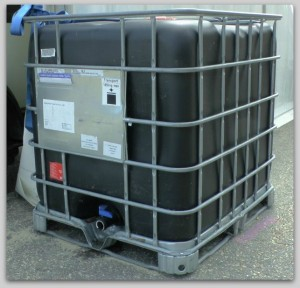 275-gallon tote for water storage | Your Guide to Safe Drinking Water Post Disaster | www.HerbalPrepper.com