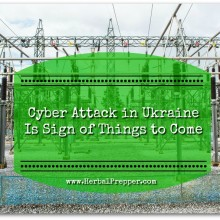 Cyber Attack In Ukraine Is Sign of Things to Come | www.HerbalPrepper.com