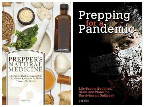 Prepper's natural Medicine | Prepping for a Pandemic | Cat Ellis Author | www.HerbalPrepper.com