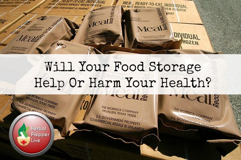 What Preppers Are Stockpiling That Could Kill Them | Unhealthy Food Storage | Improve the Quality of Your Emergency Food | Herbal Prepper Live | Prepper Broadcasting