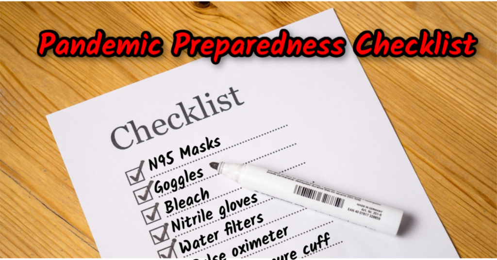 Pandemic Preparedness Checklist